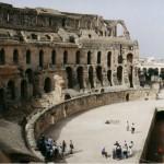 Amphithéâtre d'El Jem Tunisie
