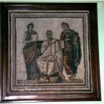 Virgile, mosaïque, musée du Bardo, Tunisie