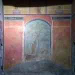 Peinture murale de la villa de Poppée à Oplontis, Italie