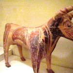 Figurine votive de taureau