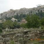 L'Acropole depuis l'agora