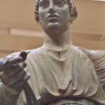 Delphes, le musée : l'Aurige 2