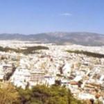 Vue panoramique d'Athènes