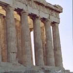 L'Acropole à Athènes (Parthénon)