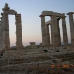 Temple de Poséidon au cap Sounion 1