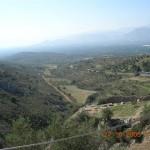 Vue depuis le site de Mycènes 3