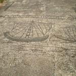 Mosaïque - Navires de commerce