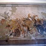 Mosaïque d'Alexandre au musée de Naples