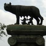 La louve - Près du Capitole