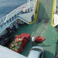 Sur le ferry pour Ithaque : Ekhô ôraia peponia...
